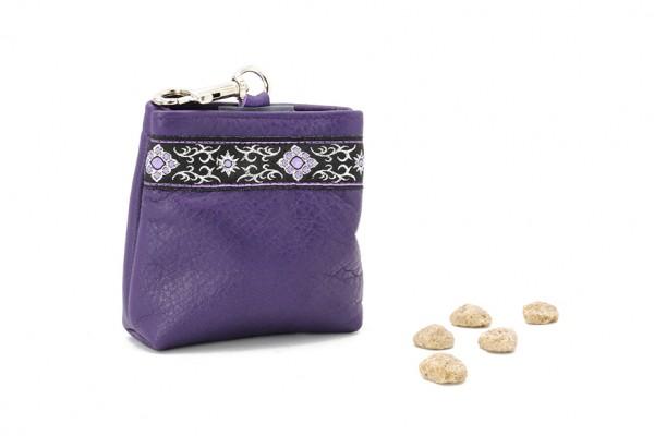 Leckerli-Beutel lila