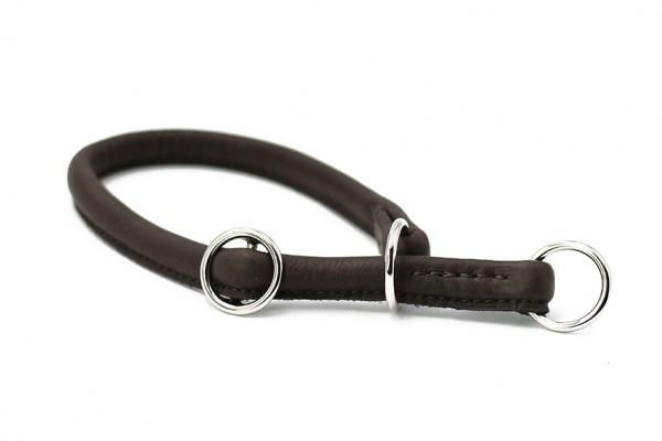 Halsband rundgenäht schwarz