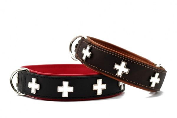 Halsband Schweizer Kreuz