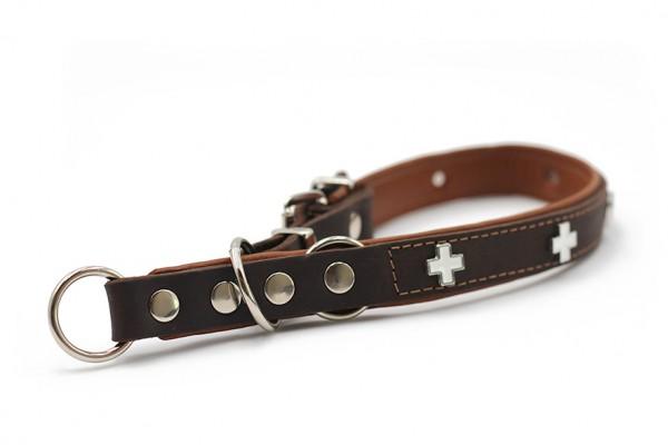 Halsband Zugstopp Schweizer Kreuz
