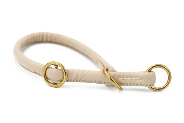 Halsband rundgenäht elfenbein